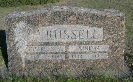 RUSSELL, SINE N. - Dawes County, Nebraska | SINE N. RUSSELL - Nebraska Gravestone Photos