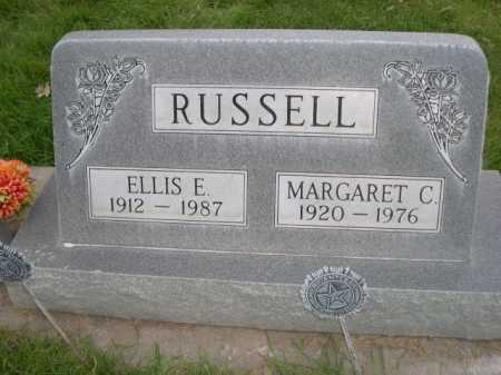 RUSSELL, MARGARET C. - Dawes County, Nebraska | MARGARET C. RUSSELL - Nebraska Gravestone Photos