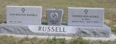 RUSSELL, PATRICK DON - Dawes County, Nebraska | PATRICK DON RUSSELL - Nebraska Gravestone Photos