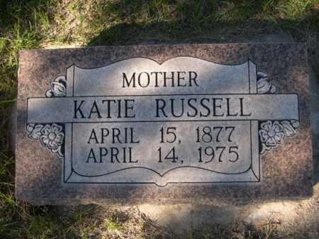 RUSSELL, KATIE - Dawes County, Nebraska | KATIE RUSSELL - Nebraska Gravestone Photos