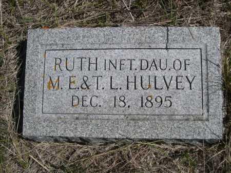 HULVEY, RUTH - Dawes County, Nebraska | RUTH HULVEY - Nebraska Gravestone Photos