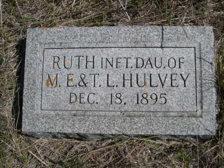 HULVEY, RUTH - Dawes County, Nebraska | RUTH HULVEY - Nebraska Gravestone Photos
