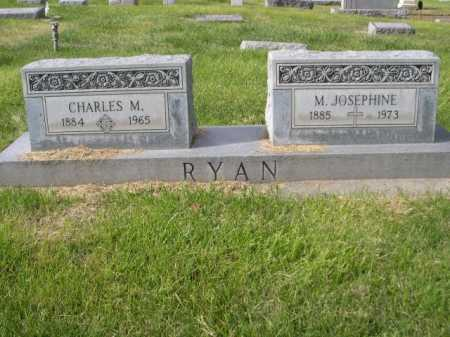 RYAN, M. JOSEPHINE - Dawes County, Nebraska   M. JOSEPHINE RYAN - Nebraska Gravestone Photos