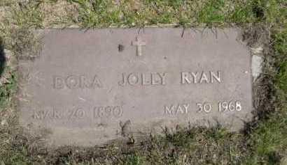 RYAN, DORA JOLLY - Dawes County, Nebraska | DORA JOLLY RYAN - Nebraska Gravestone Photos