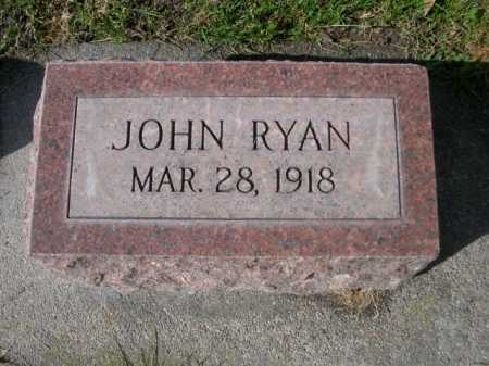 RYAN, JOHN - Dawes County, Nebraska | JOHN RYAN - Nebraska Gravestone Photos