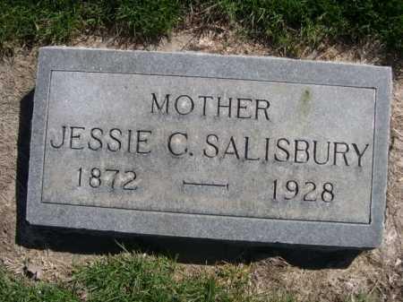 SALISBURY, JESSIE C. - Dawes County, Nebraska | JESSIE C. SALISBURY - Nebraska Gravestone Photos