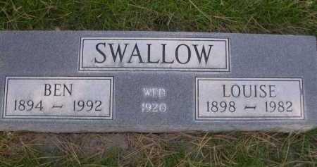 SWALLOW, BEN - Dawes County, Nebraska | BEN SWALLOW - Nebraska Gravestone Photos