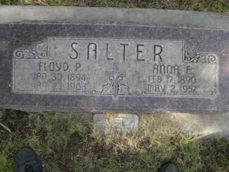 SALTER, FLOYD P. - Dawes County, Nebraska | FLOYD P. SALTER - Nebraska Gravestone Photos
