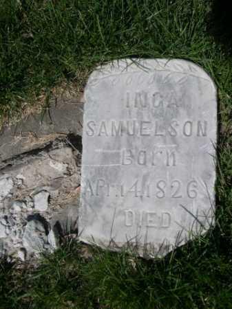 SAMUELSON, INGA - Dawes County, Nebraska | INGA SAMUELSON - Nebraska Gravestone Photos