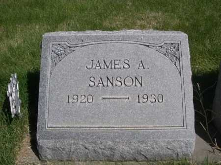 SANSON, JAMES A. - Dawes County, Nebraska | JAMES A. SANSON - Nebraska Gravestone Photos