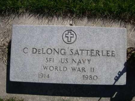 SATTERLEE, C. DELONG - Dawes County, Nebraska | C. DELONG SATTERLEE - Nebraska Gravestone Photos