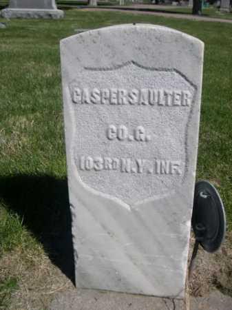 SAULTER, CASPER - Dawes County, Nebraska | CASPER SAULTER - Nebraska Gravestone Photos