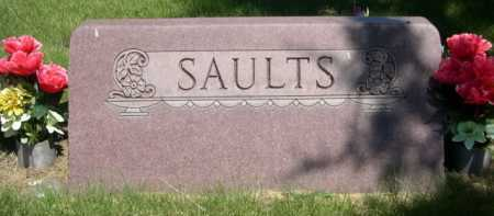 SAULTS, FAMILY - Dawes County, Nebraska   FAMILY SAULTS - Nebraska Gravestone Photos