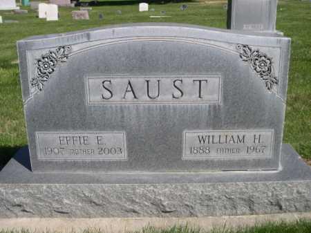 SAUST, EFFIE F. - Dawes County, Nebraska | EFFIE F. SAUST - Nebraska Gravestone Photos