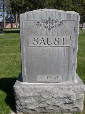 SAUST, FAMILY - Dawes County, Nebraska   FAMILY SAUST - Nebraska Gravestone Photos