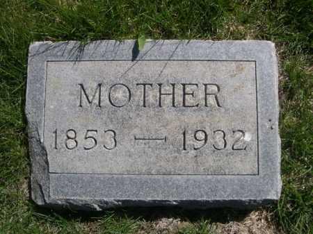 SAUST, MOTHER - Dawes County, Nebraska | MOTHER SAUST - Nebraska Gravestone Photos