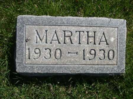 SAUST, MARTHA - Dawes County, Nebraska | MARTHA SAUST - Nebraska Gravestone Photos