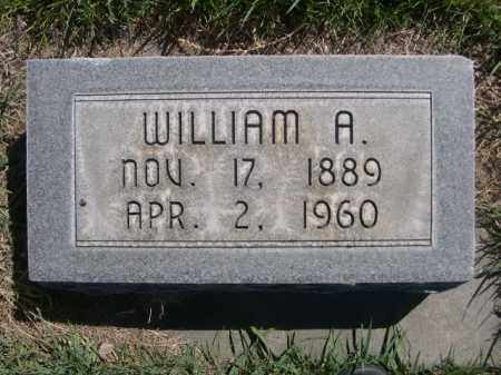 JENSEN, WILLIAM A. - Dawes County, Nebraska | WILLIAM A. JENSEN - Nebraska Gravestone Photos