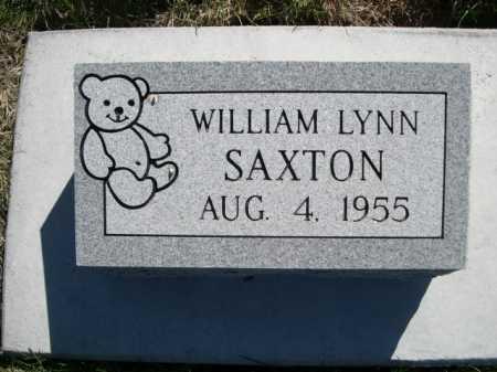 SAXTON, WILLIAM LYNN - Dawes County, Nebraska | WILLIAM LYNN SAXTON - Nebraska Gravestone Photos