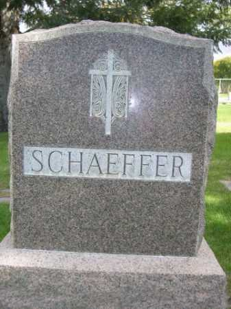 SCHAEFFER, FAMILY - Dawes County, Nebraska | FAMILY SCHAEFFER - Nebraska Gravestone Photos