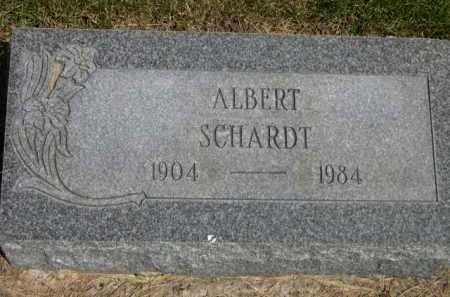 SCHARDT, ALBERT - Dawes County, Nebraska | ALBERT SCHARDT - Nebraska Gravestone Photos