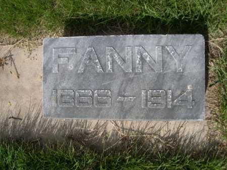 SCHAUMANN, FANNY - Dawes County, Nebraska   FANNY SCHAUMANN - Nebraska Gravestone Photos