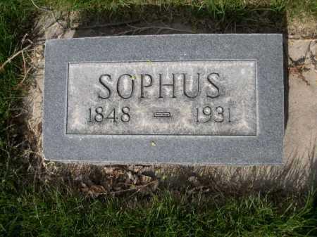 SCHAUMANN, SOPHUS - Dawes County, Nebraska   SOPHUS SCHAUMANN - Nebraska Gravestone Photos