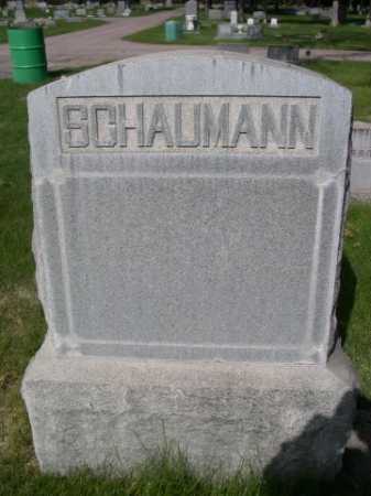 SCHAUMANN, FAMILY - Dawes County, Nebraska   FAMILY SCHAUMANN - Nebraska Gravestone Photos
