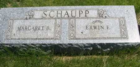 SCHAUPP, ERWIN E. - Dawes County, Nebraska | ERWIN E. SCHAUPP - Nebraska Gravestone Photos