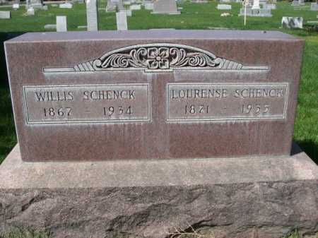 SCHENCK, WILLIS - Dawes County, Nebraska | WILLIS SCHENCK - Nebraska Gravestone Photos