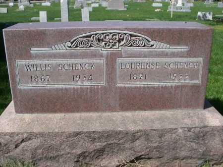 SCHENCK, WILLIS - Dawes County, Nebraska | WILLIS SCHENCK - Nebraska Gravestone Photos
