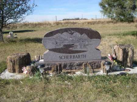 SCHERBARTH, FAMILY - Dawes County, Nebraska | FAMILY SCHERBARTH - Nebraska Gravestone Photos