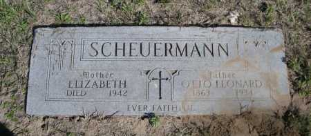 SCHEUERMANN, OTTO LEONARD - Dawes County, Nebraska   OTTO LEONARD SCHEUERMANN - Nebraska Gravestone Photos