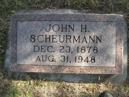 SCHEURMANN, JOHN H. - Dawes County, Nebraska | JOHN H. SCHEURMANN - Nebraska Gravestone Photos