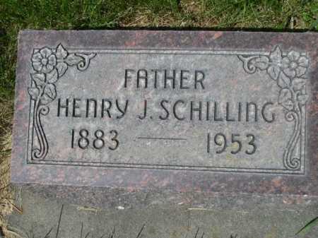SCHILLING, HENRY J. - Dawes County, Nebraska | HENRY J. SCHILLING - Nebraska Gravestone Photos