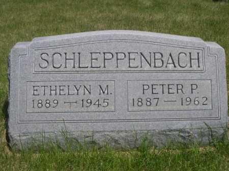 SCHLEPPENBACH, ETHELYN M. - Dawes County, Nebraska | ETHELYN M. SCHLEPPENBACH - Nebraska Gravestone Photos
