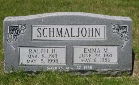 SCHMALJOHN, RALPH H. - Dawes County, Nebraska   RALPH H. SCHMALJOHN - Nebraska Gravestone Photos