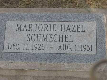 SCHMECHEL, MARJORIE HAZEL - Dawes County, Nebraska | MARJORIE HAZEL SCHMECHEL - Nebraska Gravestone Photos