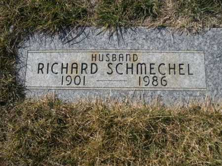 SCHMECHEL, RICHARD - Dawes County, Nebraska | RICHARD SCHMECHEL - Nebraska Gravestone Photos