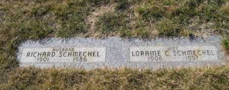 SCHMECHEL, RICHARD - Dawes County, Nebraska | RICHARD SCHMECHEL - Nebraska Gravestone Photos