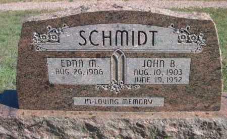 SCHMIDT, EDNA M. - Dawes County, Nebraska | EDNA M. SCHMIDT - Nebraska Gravestone Photos