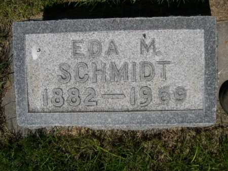 SCHMIDT, EDA M. - Dawes County, Nebraska | EDA M. SCHMIDT - Nebraska Gravestone Photos