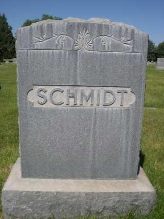 SCHMIDT, FAMILY - Dawes County, Nebraska | FAMILY SCHMIDT - Nebraska Gravestone Photos