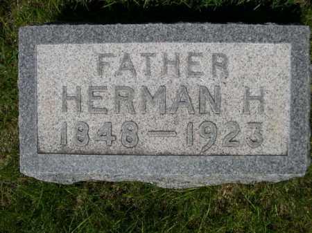 SCHMIDT, HERMAN H. - Dawes County, Nebraska | HERMAN H. SCHMIDT - Nebraska Gravestone Photos