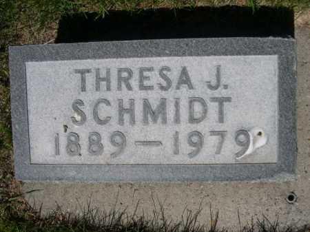SCHMIDT, THRESA J. - Dawes County, Nebraska | THRESA J. SCHMIDT - Nebraska Gravestone Photos