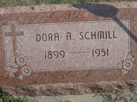 SCHMILL, DORA A. - Dawes County, Nebraska | DORA A. SCHMILL - Nebraska Gravestone Photos