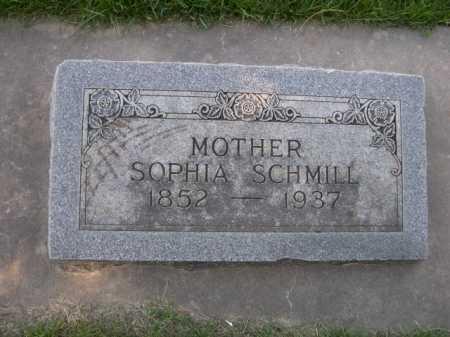 SCHMILL, SOPHIA - Dawes County, Nebraska | SOPHIA SCHMILL - Nebraska Gravestone Photos