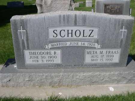 SCHOLZ, META M. - Dawes County, Nebraska | META M. SCHOLZ - Nebraska Gravestone Photos