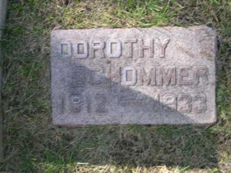 SCHOMMER, DOROTHY - Dawes County, Nebraska | DOROTHY SCHOMMER - Nebraska Gravestone Photos