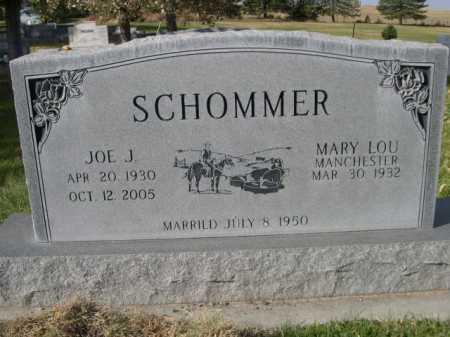 SCHOMMER, MARY LOU - Dawes County, Nebraska | MARY LOU SCHOMMER - Nebraska Gravestone Photos
